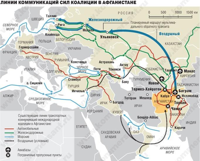 Китайцы запустили газопровод