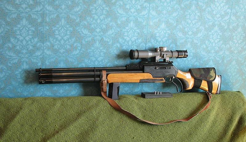 Пневматическая винтовка своим руками
