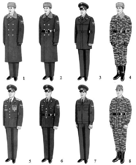 Порядок прохождения военной